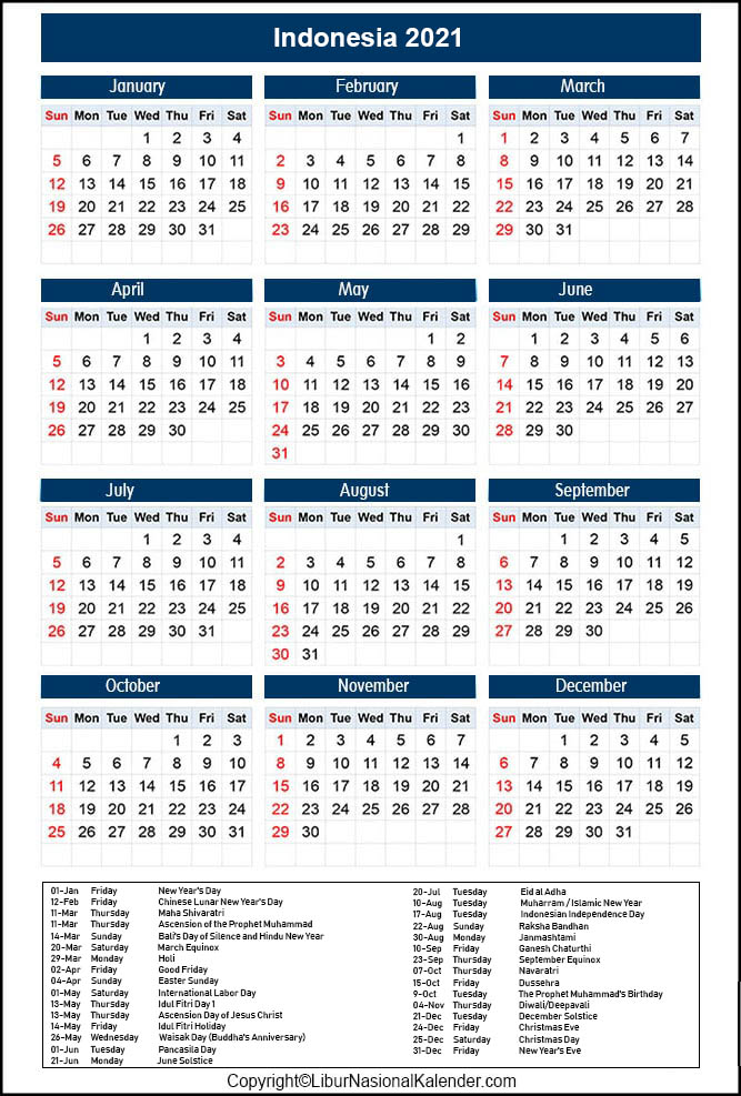Easter 2021 Public Holidays